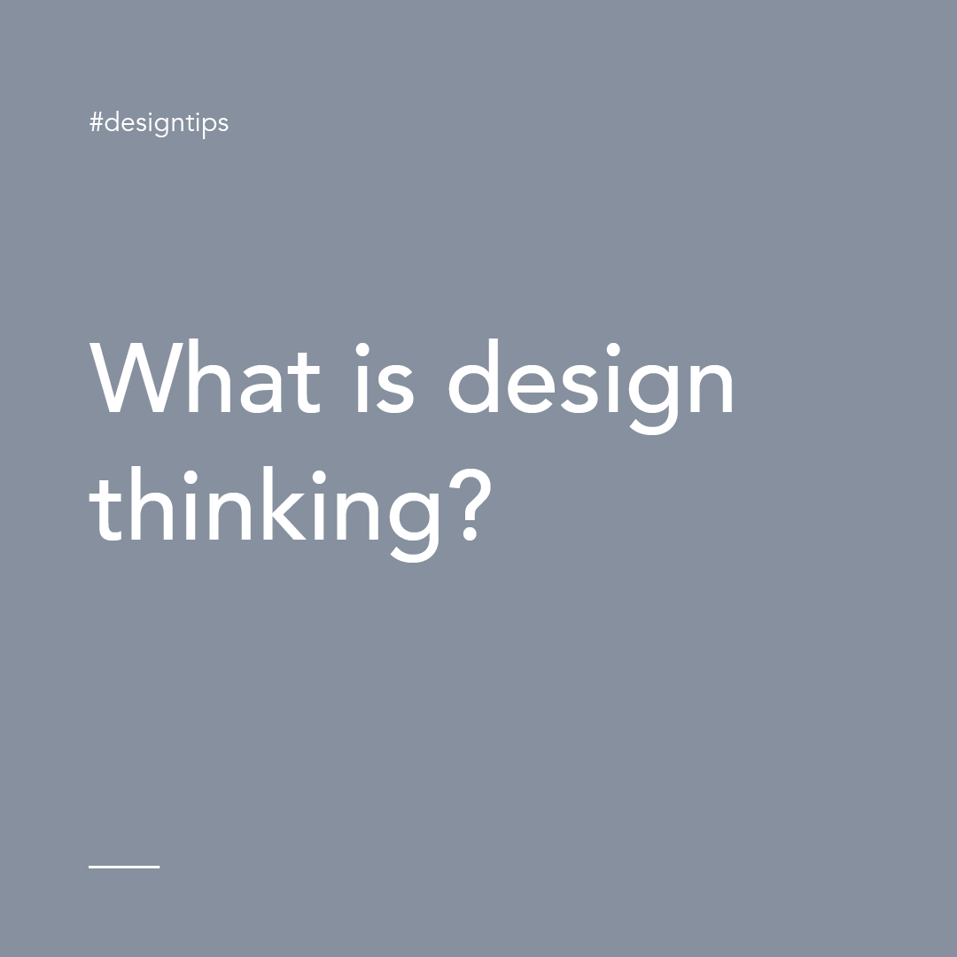 What is Design Thinking graphic for design tips