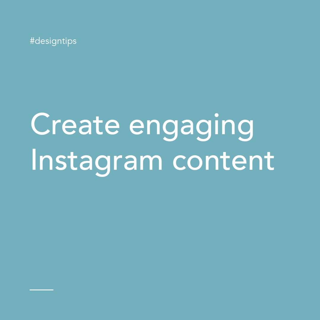 Create Engaging Instagram content graphic for design tips