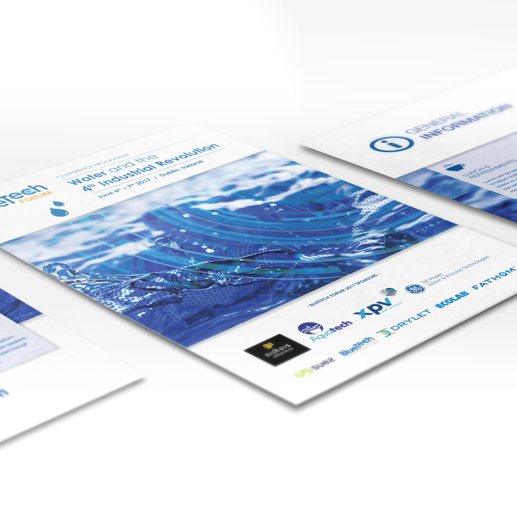 Cover for Blue Tech Research conference programme