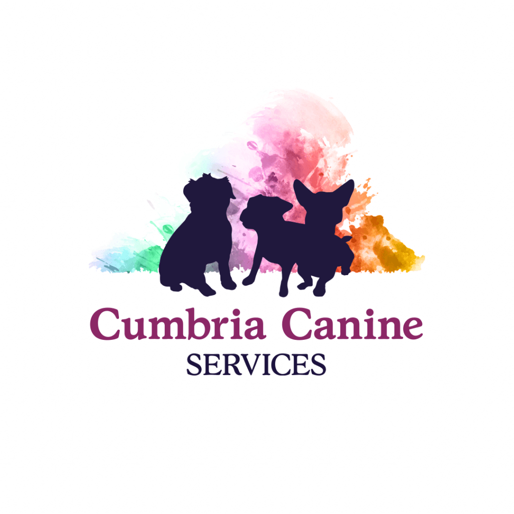 Logo design featuring the 3 dogs for Cumbria Canine Services
