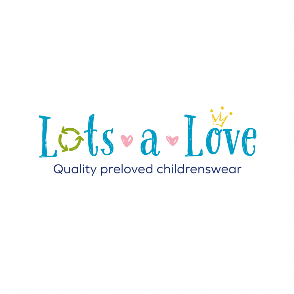 Branding & logo design for Lotsalove - quality preloved childrenswear