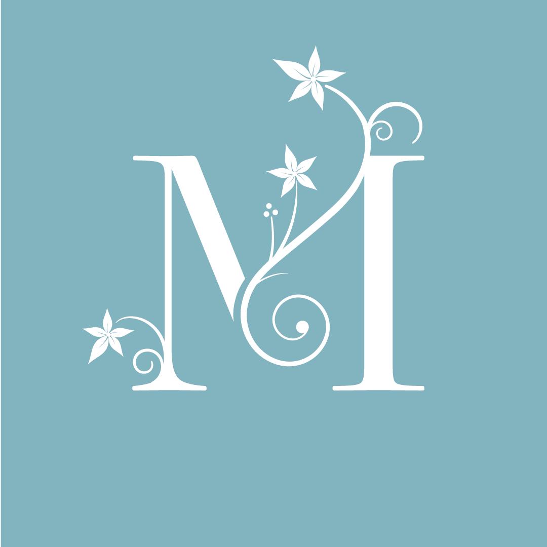 St Marys Mount logo monogram letter m