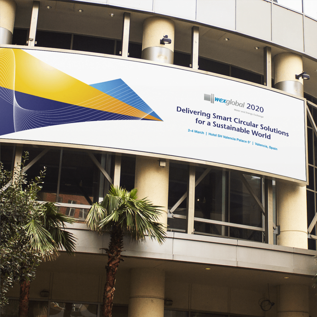 Outdoor Conference Banner for WEX 2020